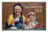 Mazawattee, Tea, UK, 1890 Poster
