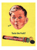 Rowntree's, Fruit Gums Sweets, UK, 1950 Prints
