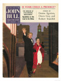 John Bull, Routemasters Magazine, UK, 1950 Giclee Print