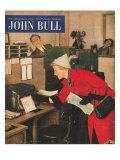 John Bull, Secretary Magazine, UK, 1950 Giclee Print