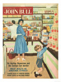John Bull, Disasters Shopping Magazine, UK, 1950 Giclee Print