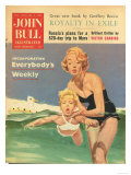 John Bull, Holiday Swimming Lessons Magazine, UK, 1950 Prints