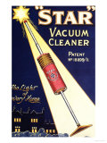 Vacuum Cleaners Hoovers Vacuum Cleaners Star Appliances, UK, 1920 Giclee Print