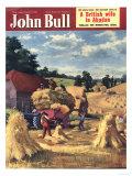 John Bull, Farming Harvesting Magazine, UK, 1951 Art
