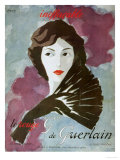 Guerlain, French Women, UK, 1930 Posters