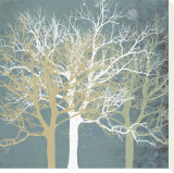 Tranquil Trees Canvas Print by Erin Clark