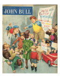 John Bull, Campaigns Politics Soap Boxes Voting Elections Education Magazine, UK, 1950 Prints
