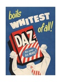 Washing Powder Products Detergent, UK, 1950 - Giclee Baskı