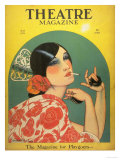 Theatre, Magazine for Playgoers, USA, 1920 Giclee Print