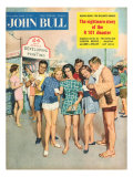 John Bull, Holiday Seaside Photographs, Memories Magazine, UK, 1950 Posters