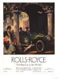 Rolls-Royce, Cars, UK, 1917 Giclee Print