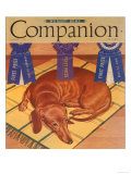 Woman's Home Companion, Dogs Magazine, USA, 1930 Prints