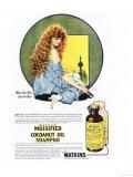 Mulsified Shampoo, Cocoanuts Oil Coconuts, USA, 1920 Giclee Print