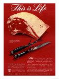 Meat, USA, 1940 Kunstdrucke