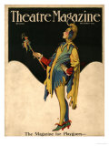 Theatre Magazine, Clowns Jesters Magazine, USA, 1921 Prints