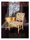 Heywood Wakefield, Furniture Interiors, USA, 1920 Giclee Print