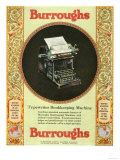 Equipment Burroughs, Adding Machines, Accountants, USA, 1920 Photo