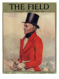 The Field, Fox Hunting Magazine, UK, 1930 Art