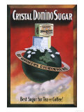 Crystal Domino Sugar, Tea Coffee, USA, 1910 Art