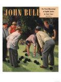 John Bull, Bowls Magazine, UK, 1950 Giclee Print