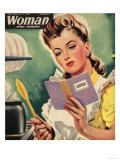 Woman, Cooking, Women at War Magazine, UK, 1942 Giclee Print