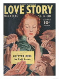 Love Story, Marriages Magazine, USA, 1939 Giclee Print