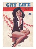 Gay Life, Glamour Pin-Ups Magazine, USA, 1930 Giclee Print