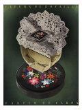 Caron Fleurs De Rocaille Womens, UK, 1930 Art