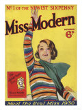 Miss Modern, First Issue Teenagers Magazine, UK, 1930 Art