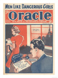 The Oracle, Pulp Fiction Secretaries Magazine, UK, 1938 Giclee Print