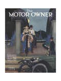 The Motor Owner, Evening Dress Magazine, UK, 1919 Giclee Print