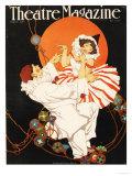 Theatre Magazine, Pierrot Magazine, USA, 1920 Giclée-tryk