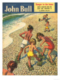 John Bull, Holiday Beaches Seaside Magazine, UK, 1950 Posters