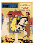 John Bull, Hair Salon Magazine, UK, 1950 Prints