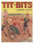Tit-bits, Boy Scouts Holiday Beaches Magazine, UK, 1930 Giclee Print