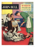 John Bull, Housewife Vacuum Cleaners Products Magazine, UK, 1957 Prints