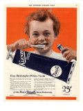 Klenzo Toothpaste, USA, 1920 Prints