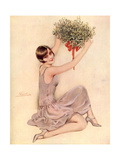 Mistletoe, UK, 1920 Giclee Print