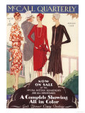 McCall Quarterly, Womens Art Deco, USA, 1920 Giclee Print