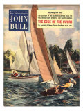 John Bull, Sailing Boats Magazine, UK, 1950 Prints