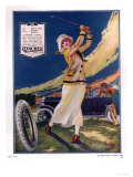 Clincher, Golf Tyres, uk, 1919 Giclee Print