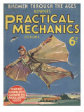 The Practical Mechanics, Bird Man, Visions of the Future, UK, 1930 Giclee Print