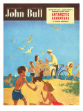 John Bull, Holiday Beaches Seaside Ice-Cream Magazine, UK, 1950 Prints