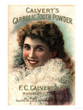 Calvert Toothpaste, UK, 1890 Prints