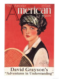 Tennis Magazine, USA, 1924 Posters