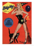 Blighty, Glamour Pin-Ups Models Halloween Magazine, UK, 1958 Prints