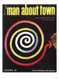 Man About Town, UK, 1958 Prints