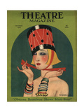Theatre, Art Deco Magazine, USA, 1923 Posters