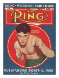 The Ring, Boxing Magazine, USA, 1934 Posters