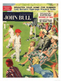 John Bull, Cricket Children Magazine, UK, 1950 Giclee Print